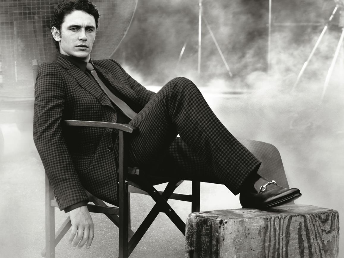 James Franco ist das Gesicht der MADE TO MEASURE Kampagne von Gucci