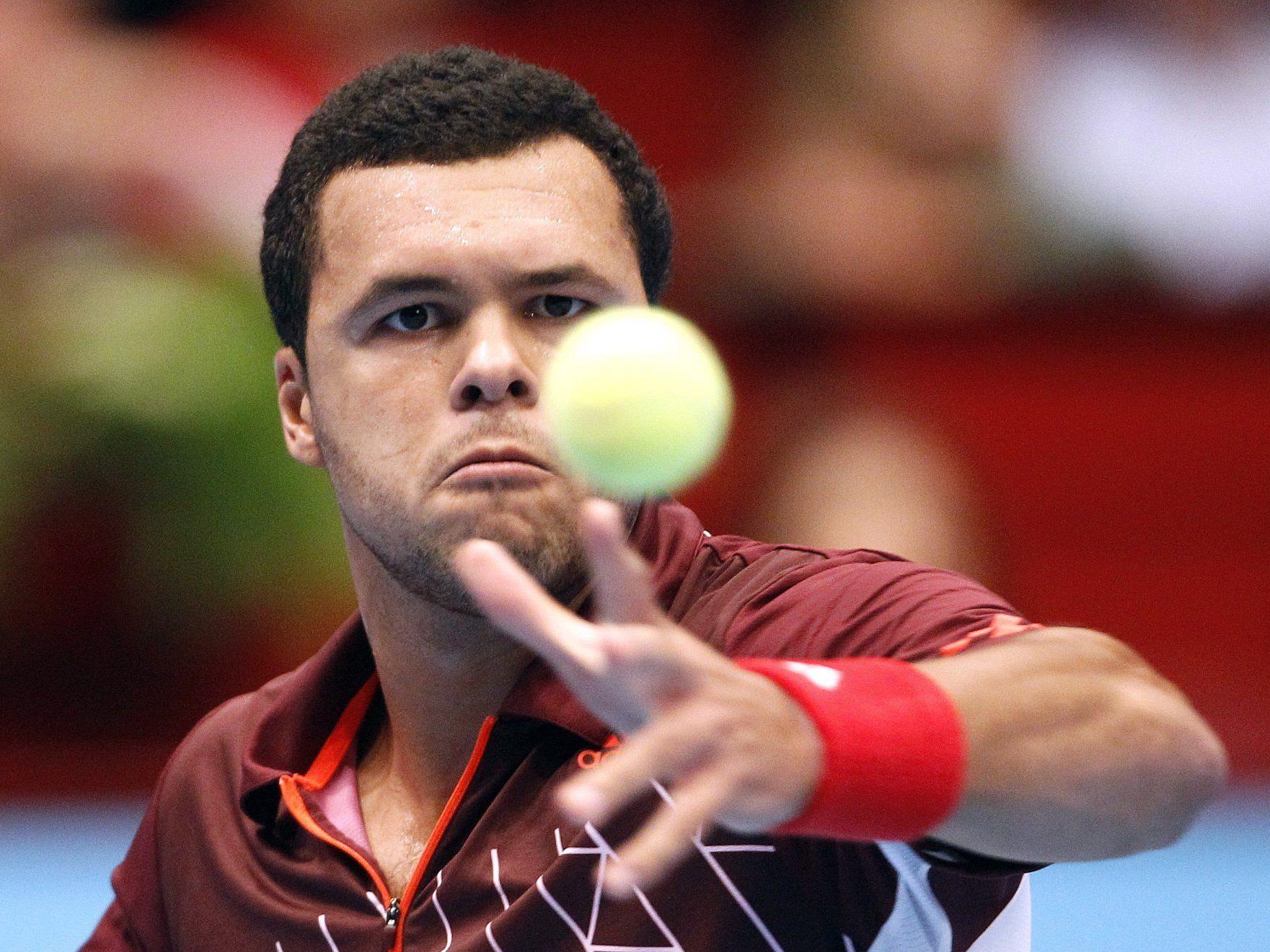 Jo-Wilfried Tsonga das Erste Bank Open 2011 in Wien.