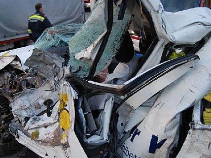 Der Unfall in Ebreichsdorf forderte ein Todesopfer