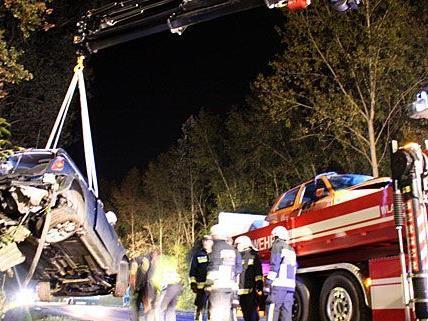 Bei Tulln ereignete sich ein schwerer Unfall mit drei Verletzten