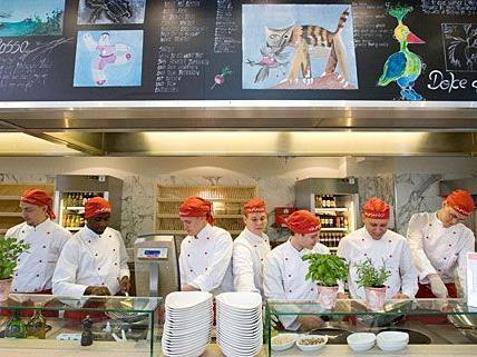 Die Restaurantkette Vapiano mit ihren typischen Showküchen ist international erfolgreich
