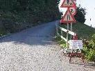 Wegen Sanierung ist die Straße auf den Zanzenberg gesperrt.