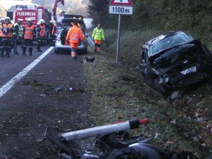Verkehrsunfall in Leoben
