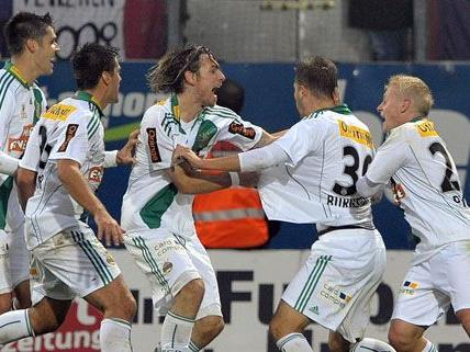 Die Achtelfinal-Partien des ÖFB-Cups werden ausgetragen.