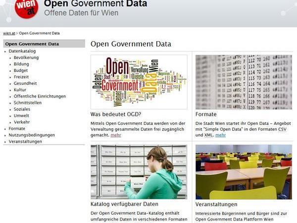 Der Open Data-Katalog wird erneut mit neuen Daten befüllt und verbessert.