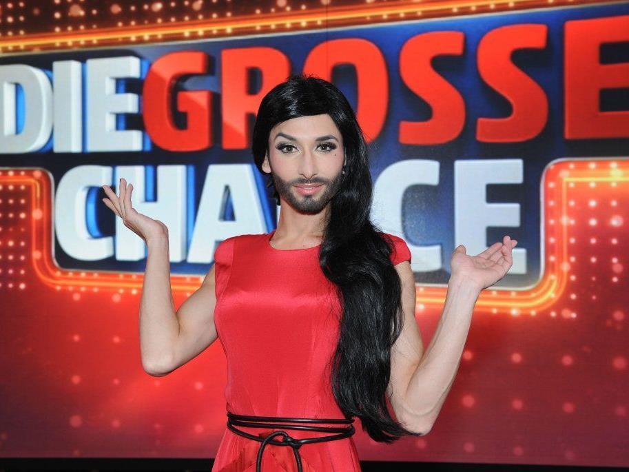 """Conchita Wurst ergriff """"Die große Chance"""""""