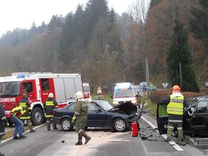 Schwerer Verkehrsunfall in Oberösterreich