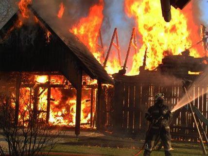 Haus in der Steiermark fing Feuer