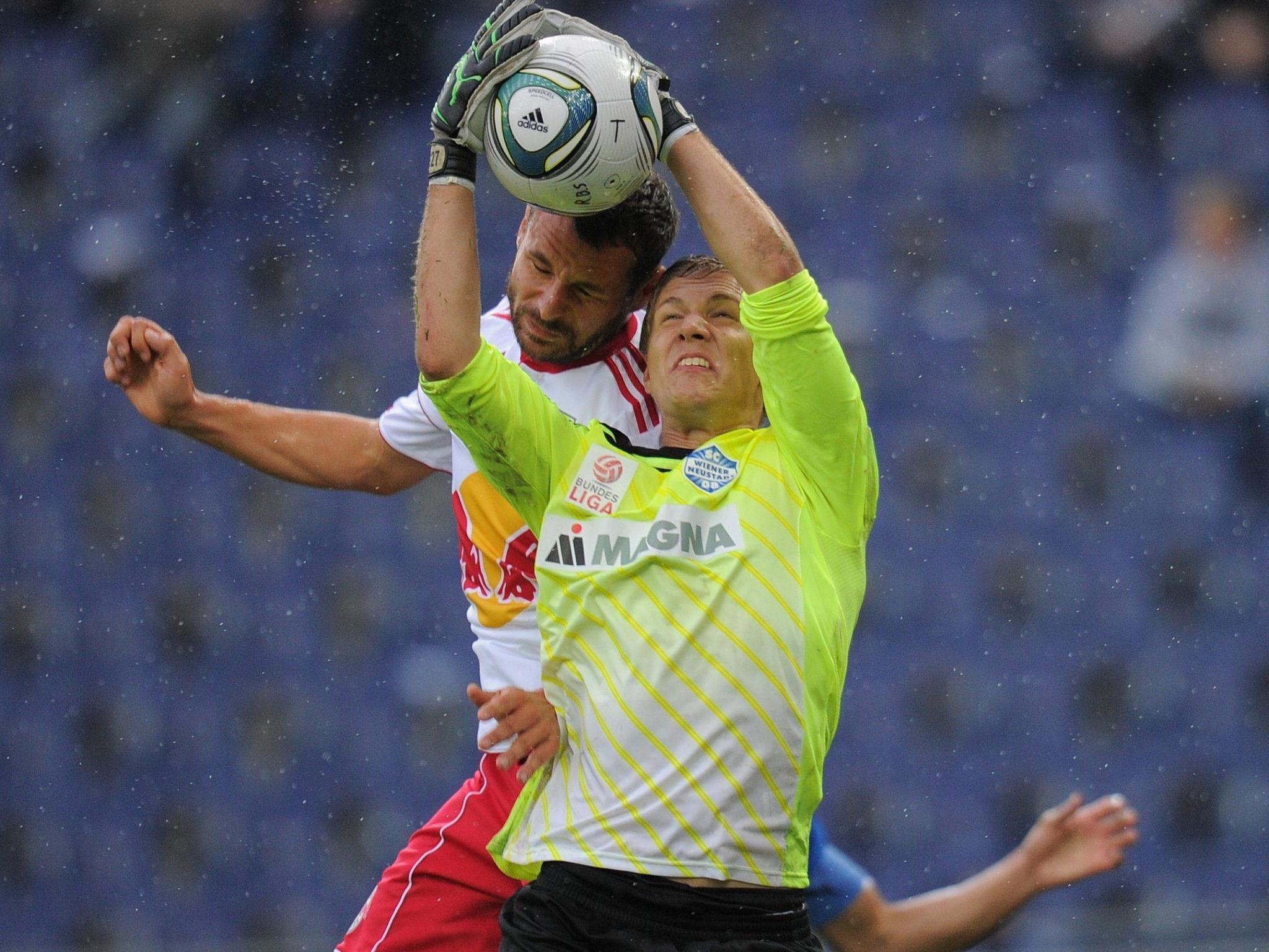 Jörg Siebenhandl im Einsatz gegen Red Bull Salzburg