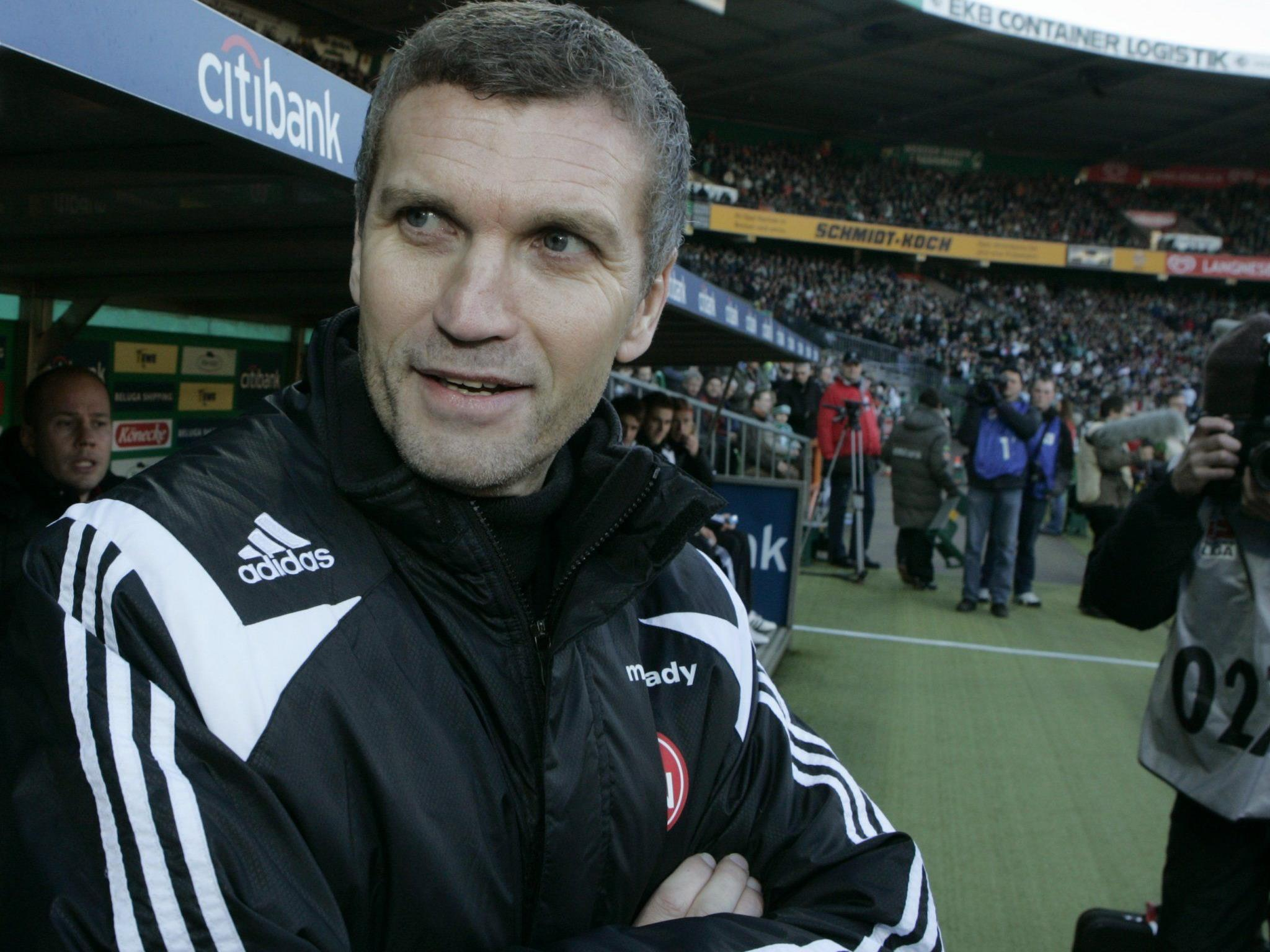Thomas von Heesen wird neuer Trainer in Kapfenberg.