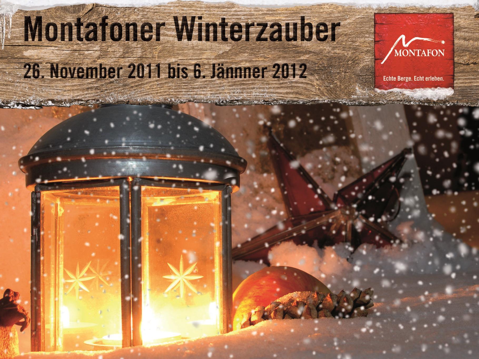 Abwechslungsreiches Winterprogramm wird im Montafon geboten.