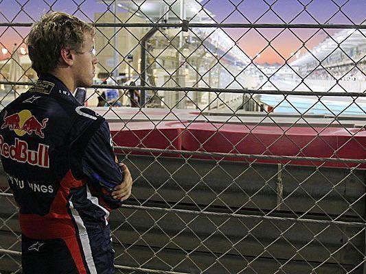 Vettel nach seinem Ausfall beim Grand Prix von Abu Dhabi.