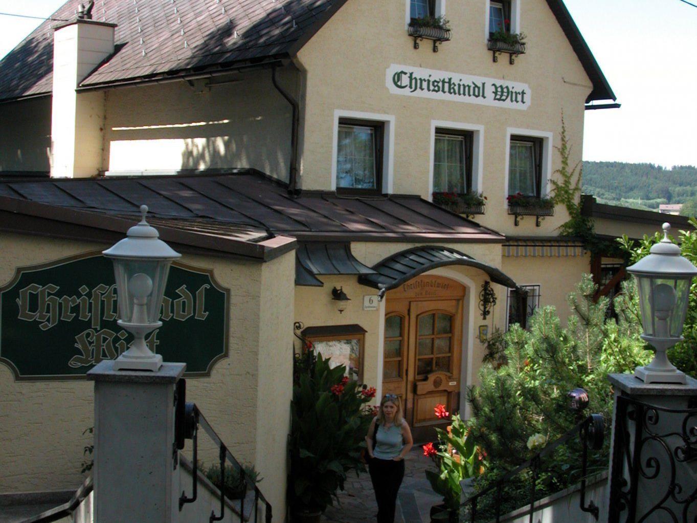 Das Weihnachts-Postamt Christkindl bei Steyr in Oberösterreich.