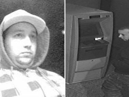Die Polizei fahndet nach diesen beiden mutmaßlichen Bankomatkarten-Dieben.