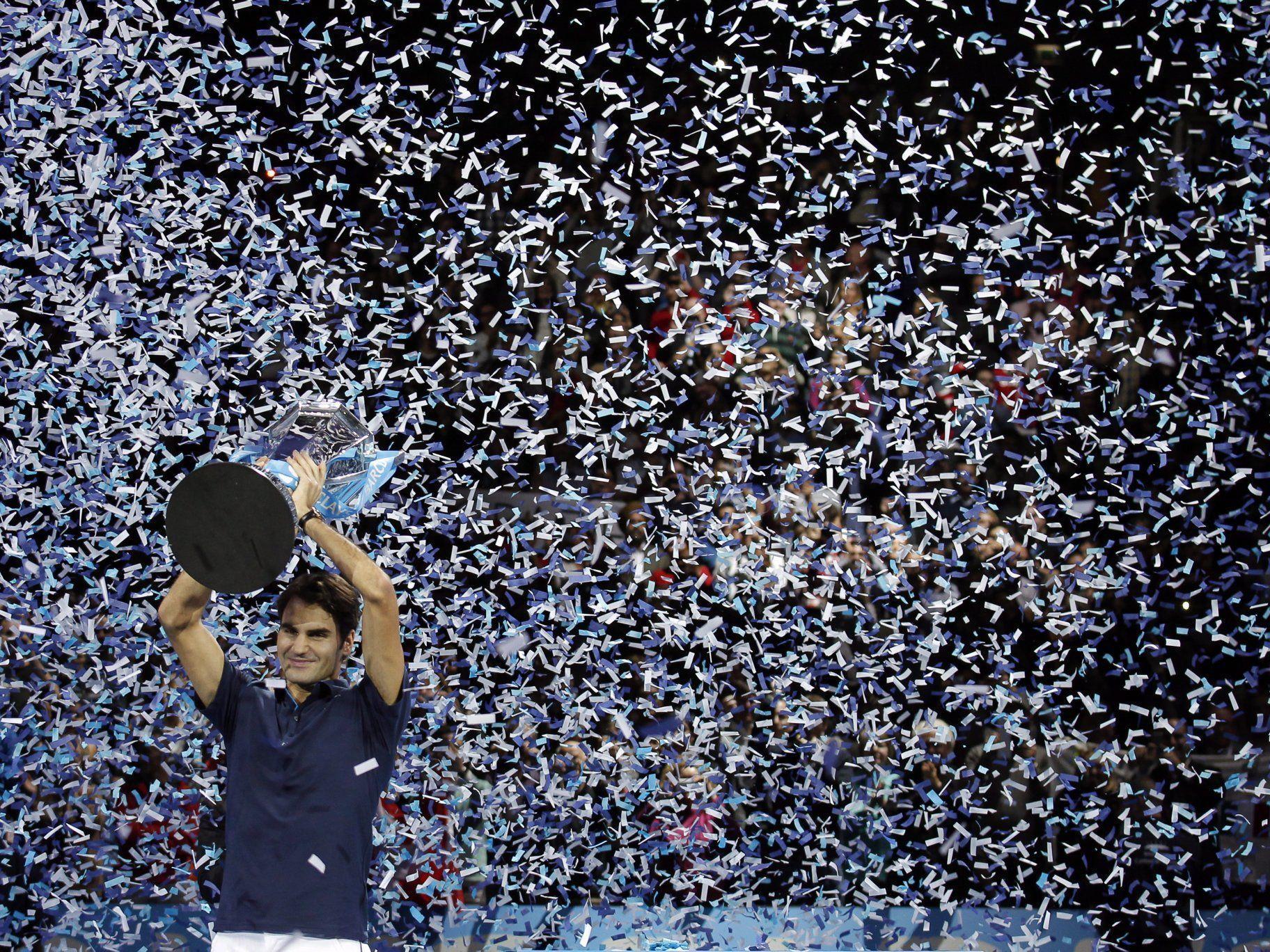 Schweizer mit sechs Titeln alleiniger Masters-Rekordsieger.