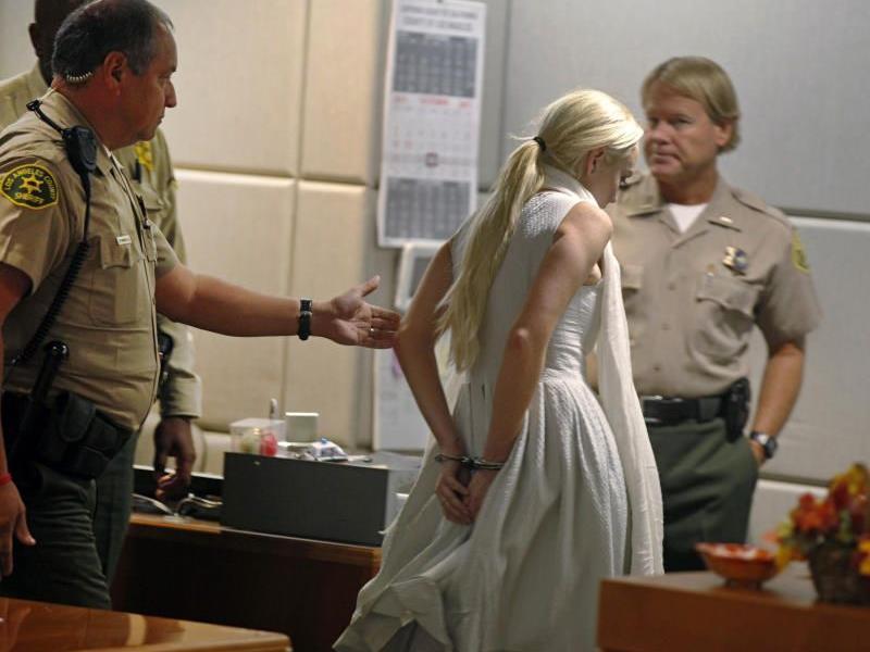 Lindsay Lohan tritt ihre Haftstrafe an