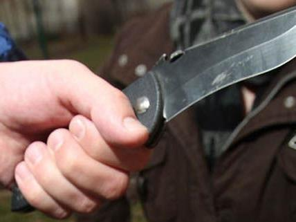 In Wien-Währingt wurde ein Hundebseitzer von einem Mann mit einem Messer bedroht.