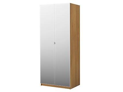 In Österreich wurden 2.388 dieser Türen bei Ikea verkauft. Andere Kleiderschrankspiegeltüren sind von dem Rückruf nicht betroffen.