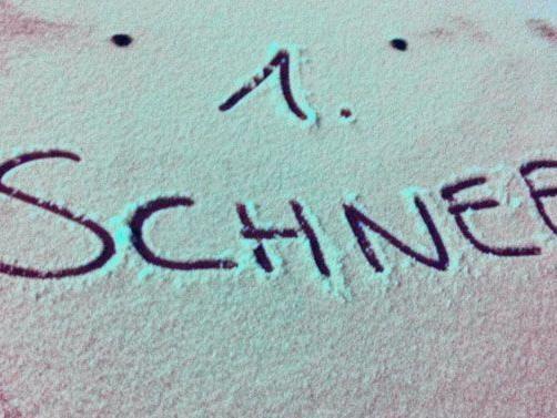 """Der erste Schnee im 3. Bezirk stellte sich als """"Industrieschnee"""" heraus."""