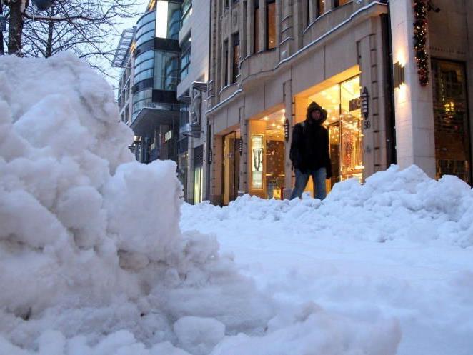 Wetter zu Weihnachten - Schnee in Wien wäre wie Jackpot
