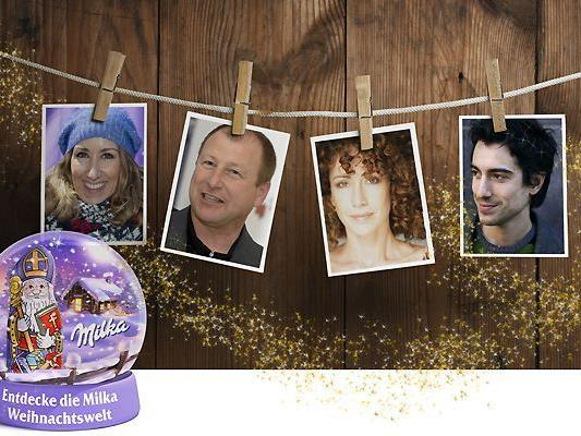 Das abwechslungsreiche Programm der Milka Weihnachtswelt verspricht heitere wie besinnliche Stunden und stimmt Besucherinnen und Besucher auf Weihnachten ein.