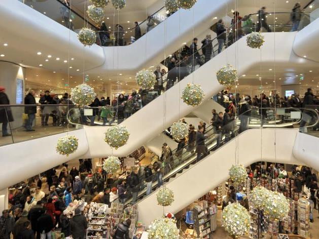 Weihnachten: Ein Fest für den Handel