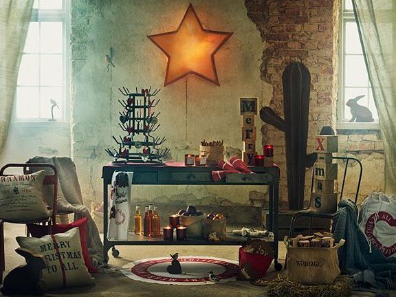 H&M-Home präsentiert den Weihnachtslook für die Wohnung