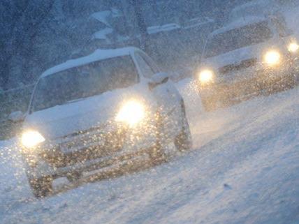 Schnee sorgt für Probleme in Österreich