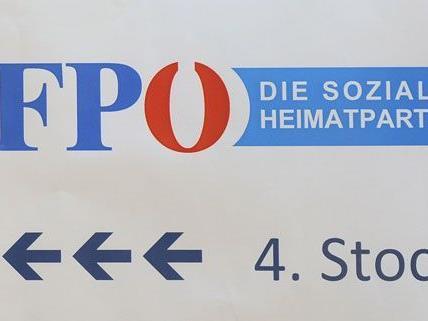 FPÖ-Zentrale in Graz beschmiert