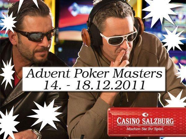 Gewinne bei den Advent Poker Masters im Casino Salzburg.