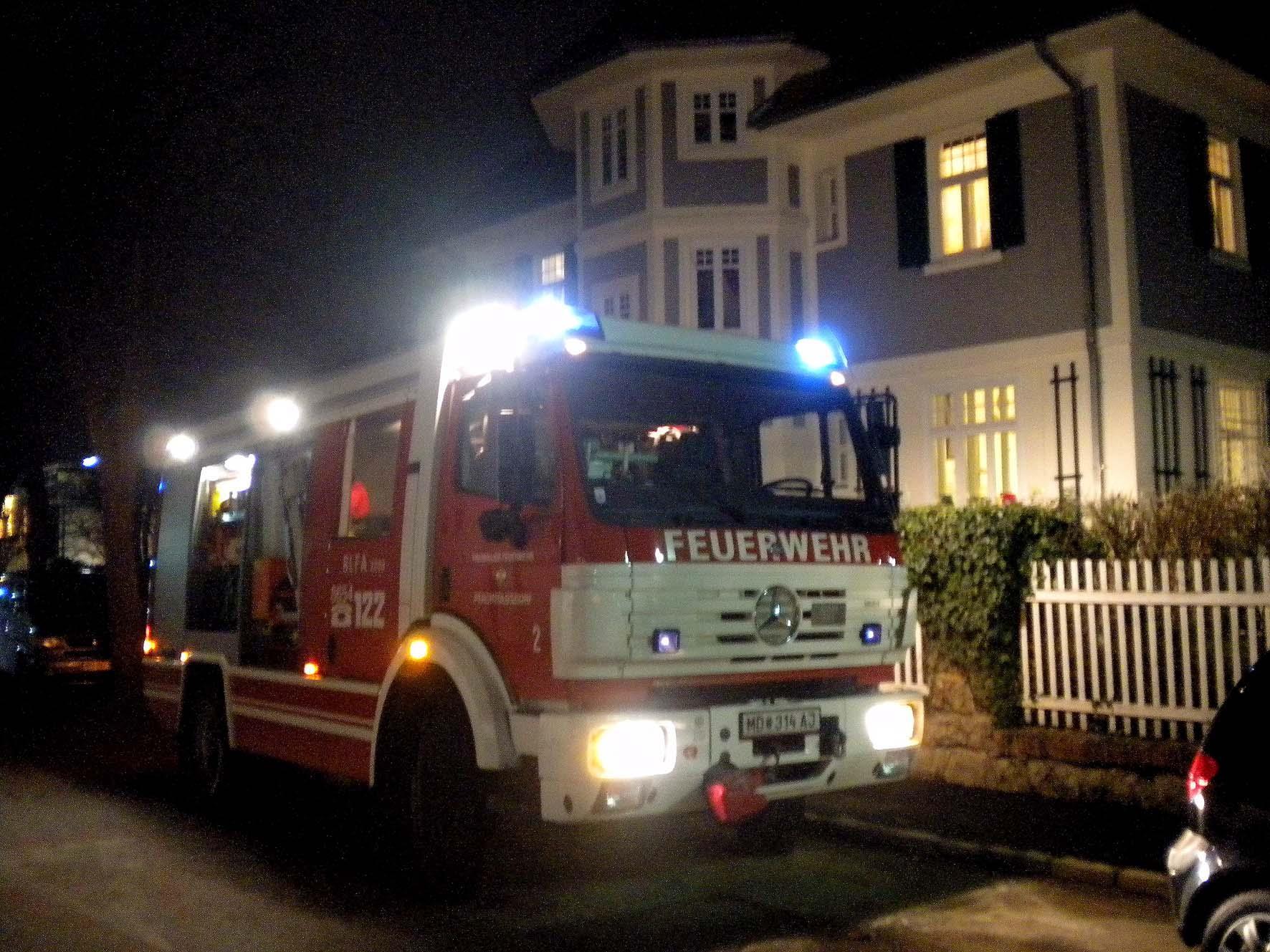 Die Feuerwehr leistete Erste Hilfe in Perchtoldsdorf