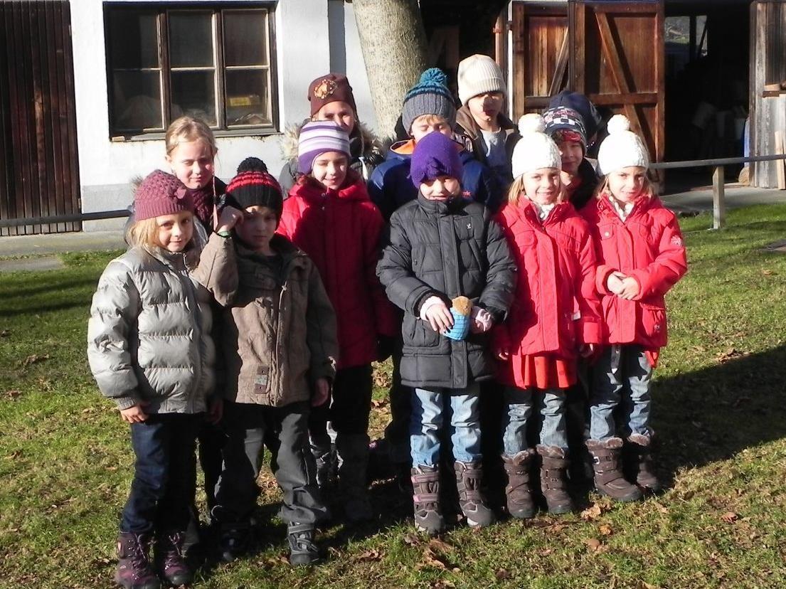 Die Schüler der Volksschule Lorüns freuen sich auf zahlreiche Besucher