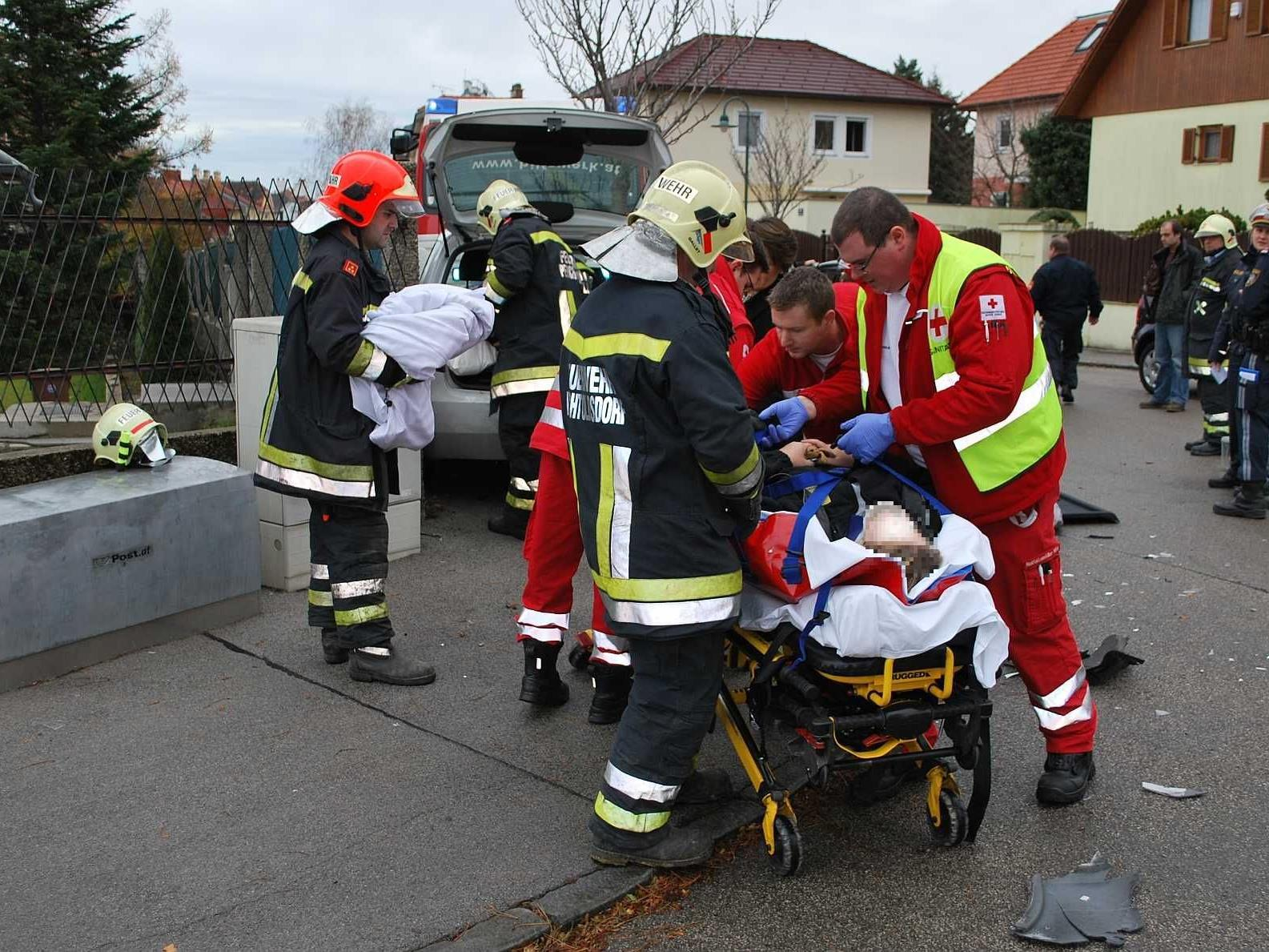 Die Versorgung der Verletzten erfolgte durch die zentrale Lage sehr rasch.