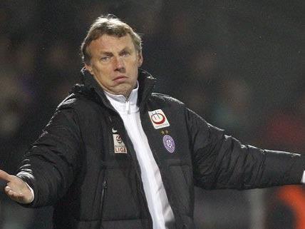 Trainer Daxbacher verlässt die Austria