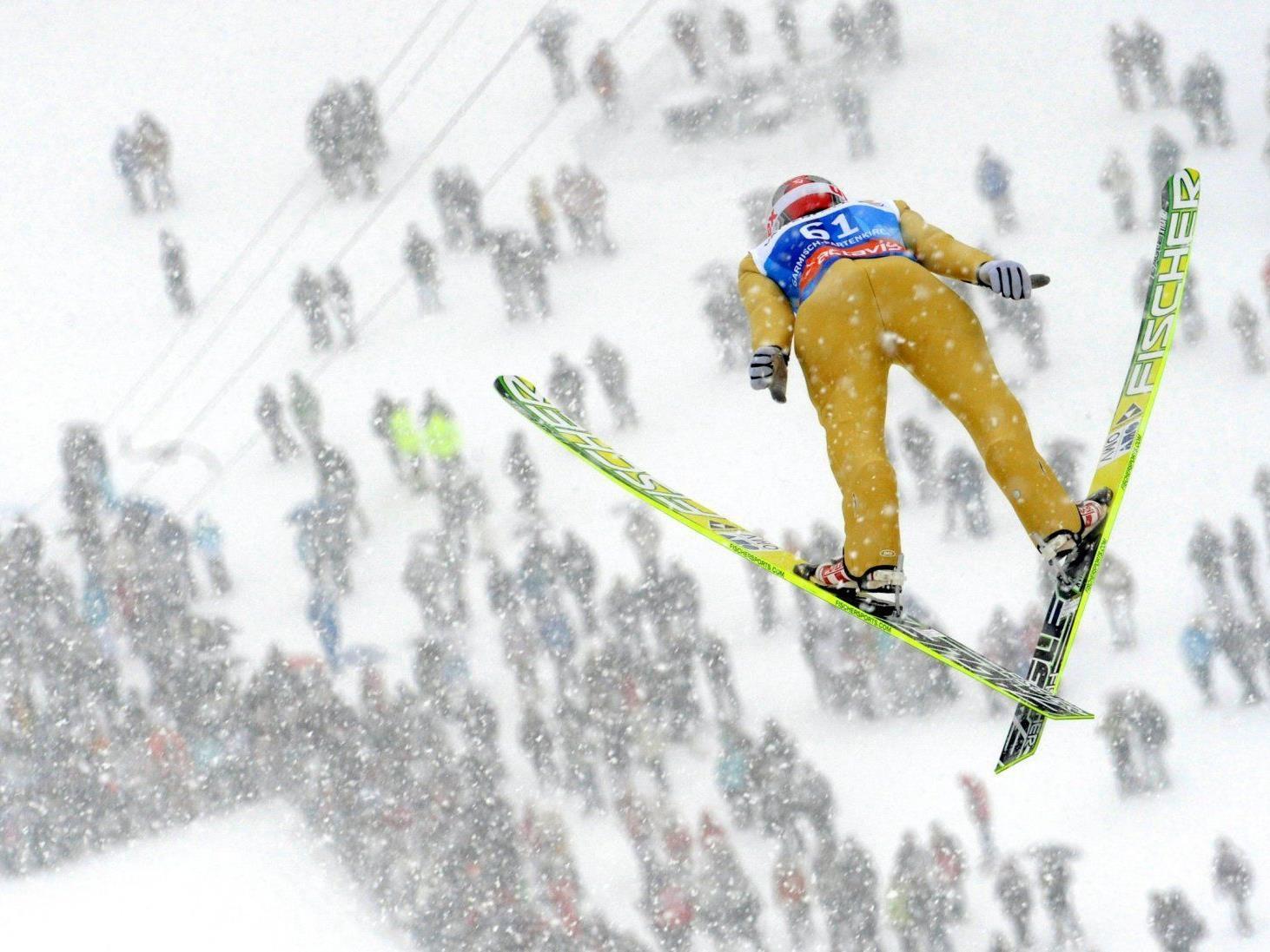 Kranjec gewann Garmisch-Qualifikation, Kofler setzte aus - Alle Österreicher im Hauptbewerb.