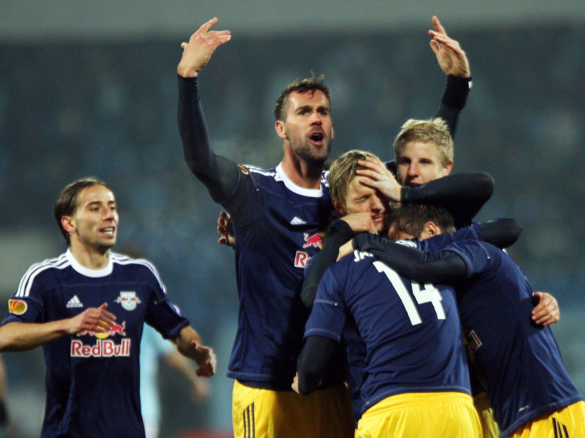 Salzburg in Europa-League-K.o.-Phase: 3:2-Sieg in Bratislav