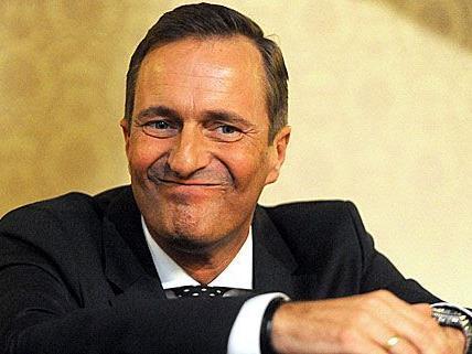 Der mögliche nächste Obmann Manfred Juraczka bei der Angelobung als ÖVP-Stadtrat im September