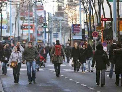 Die Umgestaltung der Mariahilfer Straße stößt in Wien auf großes Interesse