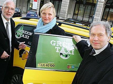 In Wien sind die Umwelttaxis auf dem Vormarsch