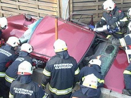 Schwerer Autounfall am Freitag in der Nähe von Graz