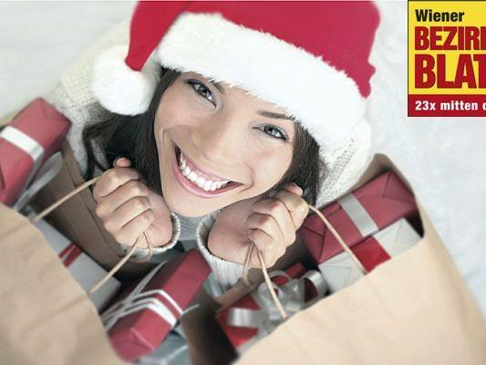Die Wiener geben 76% ihres Weihnachtsgeldes für Geschenke aus.