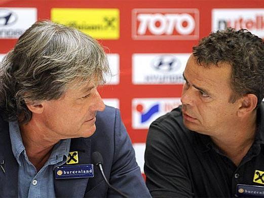 Constantini und Zsak empörten sich über einen Journalisten.