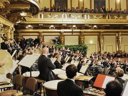 Die Balletteinlage des Neujahrskonzertes wird im Schloss Belvedere getanzt.