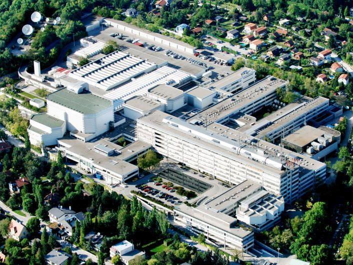 Das ORF-Zentrum im 13. ist in sehr schlechtem Zustand.