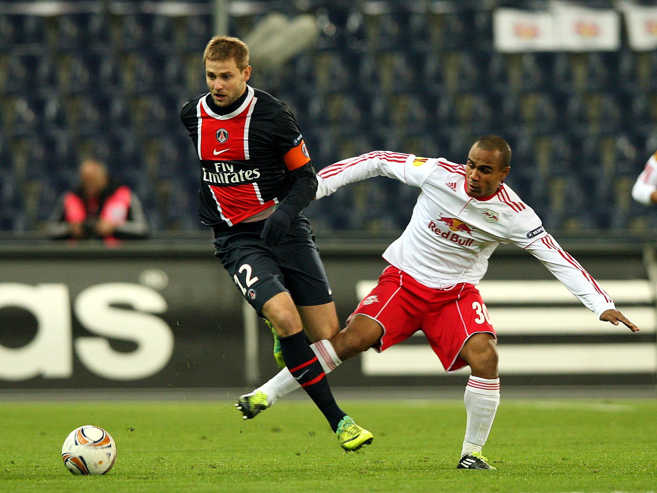 Red Bull Salzburg gewinnt daheim mit 2:0 gegen PSG.