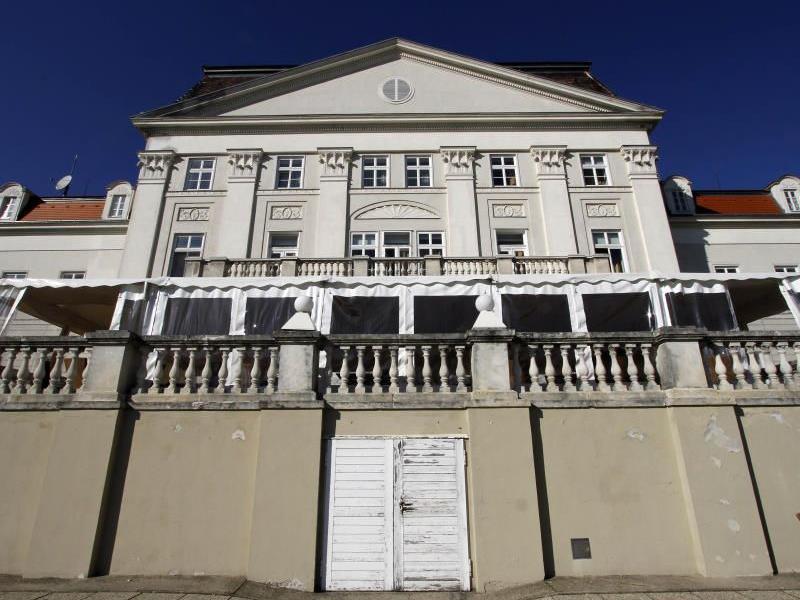 Das ehemalige Kinderheim Wilhelminenberg