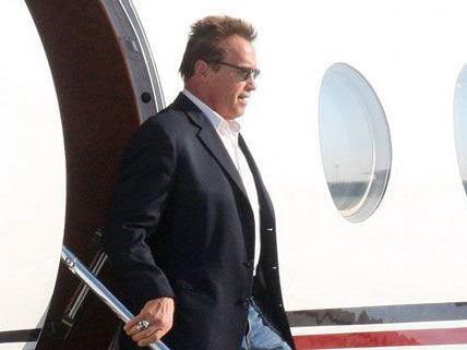 Arnold Schwarzenegger ist in Innsbruck