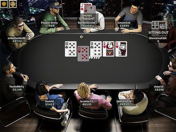 Die entscheidende Hand im $320 Online Final