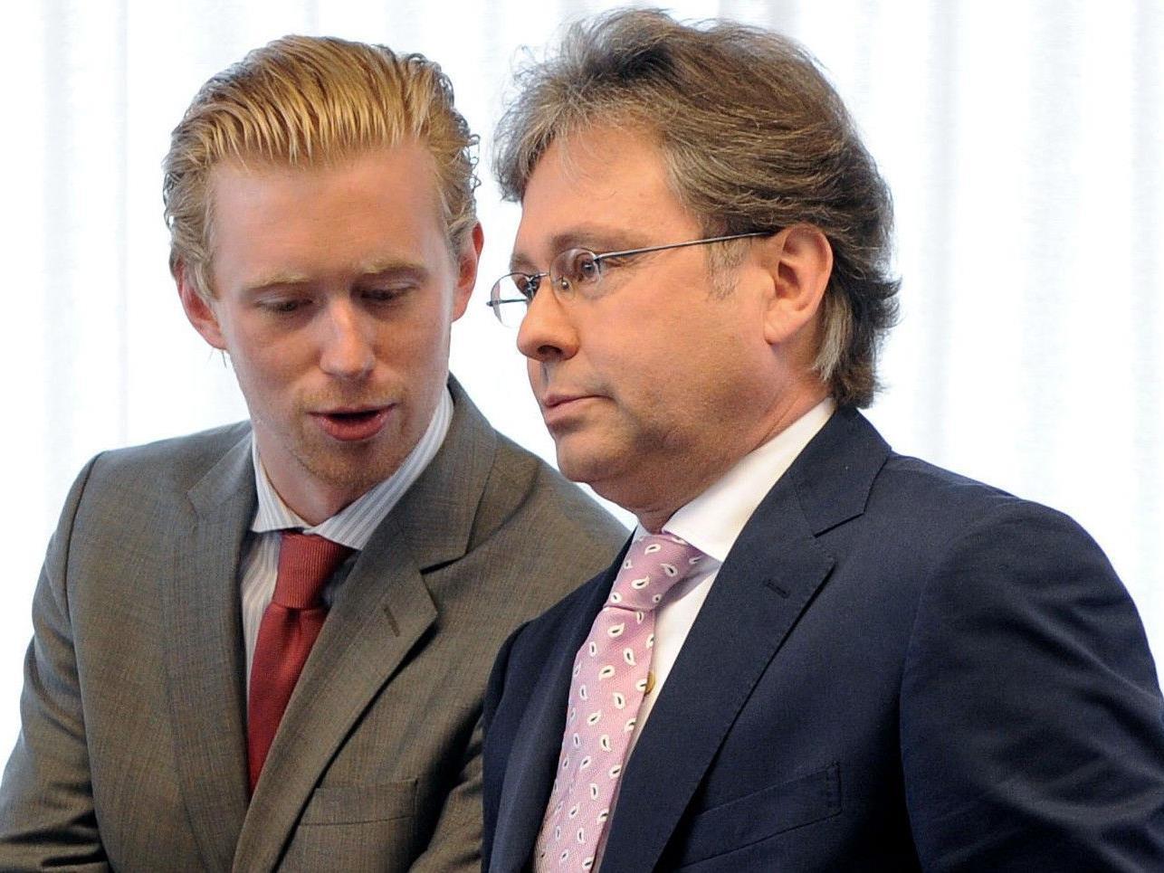 Niko Pelinka und ORF-Generaldirektor Alexander Wrabetz