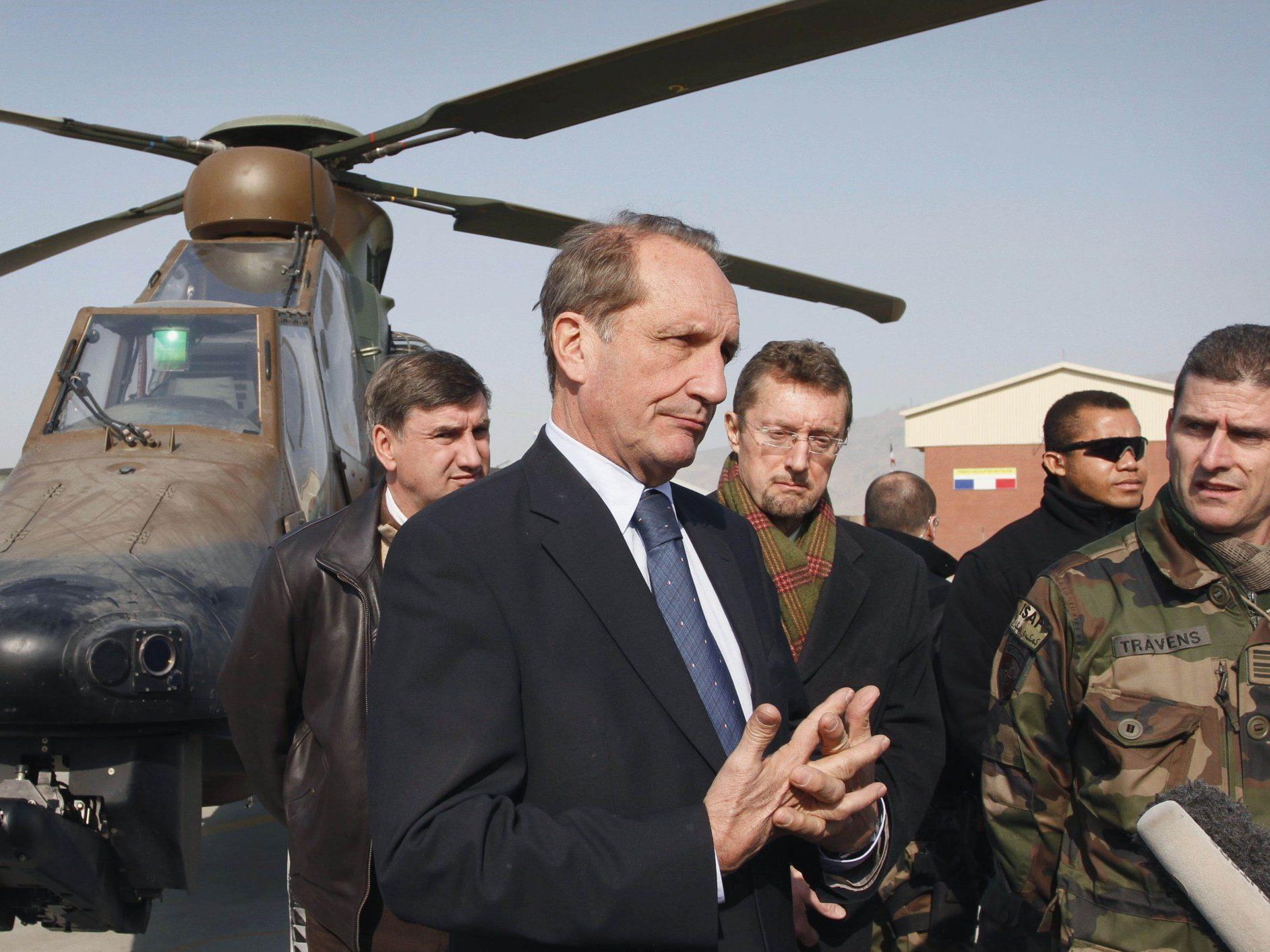 Nach dem Tod von vier französischen Soldaten könnte sich Frankreich aus Afghanistan zurückziehen.